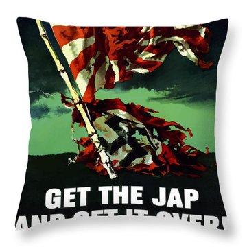 Work Where You're Needed -- Ww2 Throw Pillow
