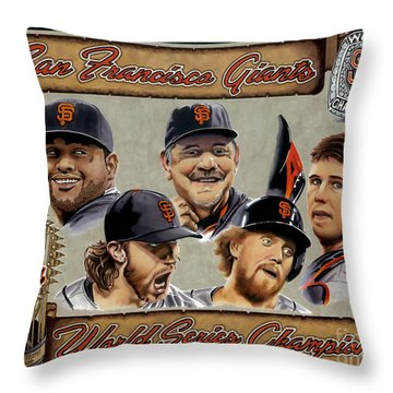 World Champs Throw Pillow