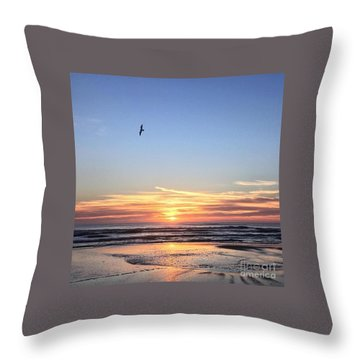 Throw Pillow featuring the photograph World Gratitude And Peace Day by LeeAnn Kendall