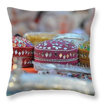 World Of Colors Throw Pillow