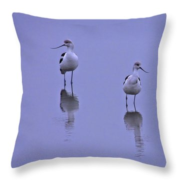 World Of Their Own Throw Pillow