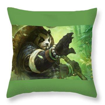 Pandaria Throw Pillows