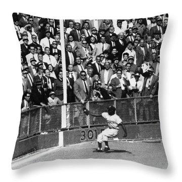 World Series, 1955 Throw Pillow by Granger