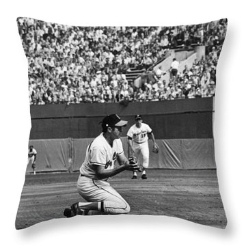 World Series, 1970 Throw Pillow by Granger