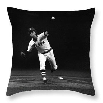 World Series, 1975 Throw Pillow by Granger