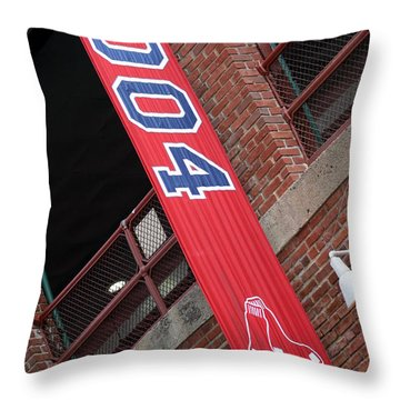 World Series Champs Throw Pillow by Greg DeBeck