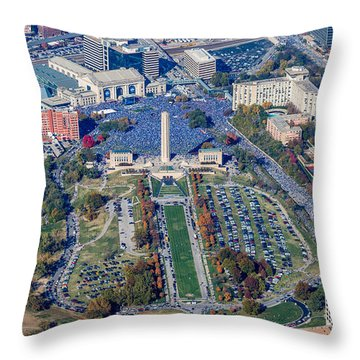 World Series Rally 2015 Throw Pillow