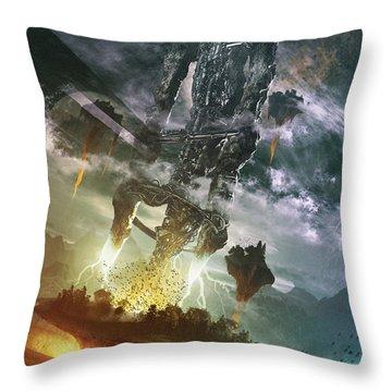 World Thief Throw Pillow