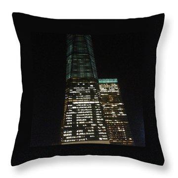 World Trade Center  Nyc Throw Pillow