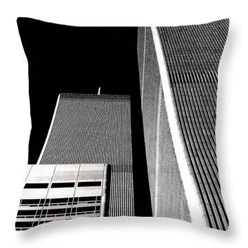 World Trade Center Pillars Throw Pillow