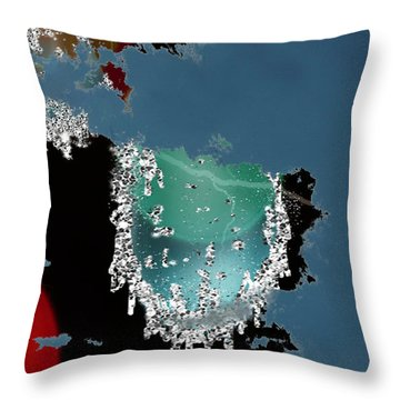World Where Are You Throw Pillow