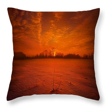 World Without End Throw Pillow
