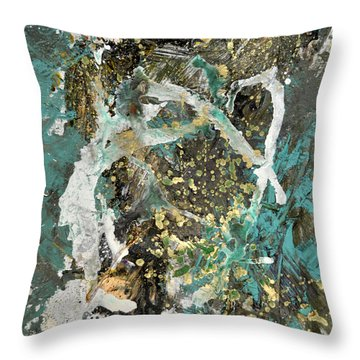 Hidden Treasues Throw Pillow