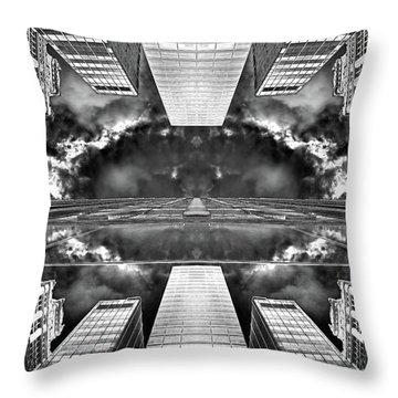 Worlds End  Throw Pillow