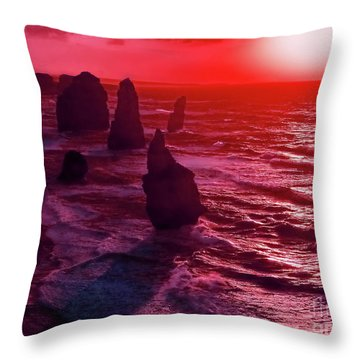 World's End Throw Pillow