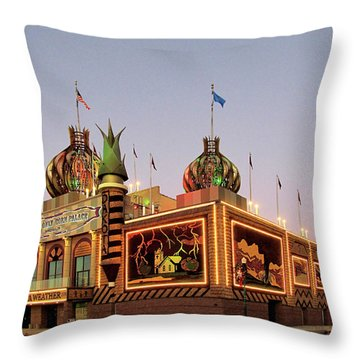 World's Only Corn Palace 2017-18 Throw Pillow