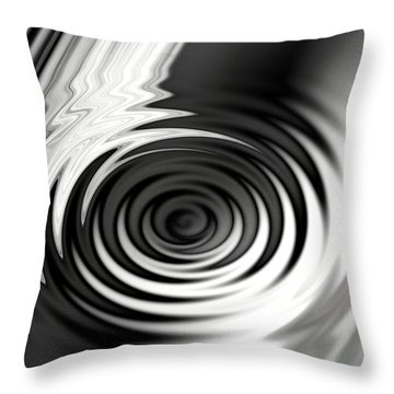 Wormhold Abstract Throw Pillow