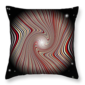 Wormhole Trip 2 Throw Pillow