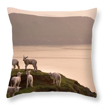 Worms Head Throw Pillow