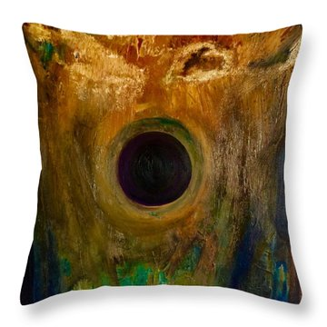 Worn And Beautiful  Throw Pillow by Scott French