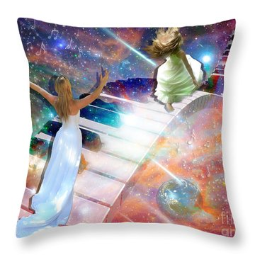 Worship In Spirit And In Truth Throw Pillow