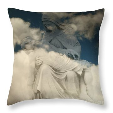 Throw Pillow featuring the photograph Worship by Raymond Earley