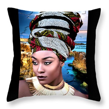 Worthy Is She Throw Pillow