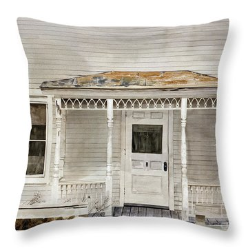 Would Mother Ann Approve Throw Pillow
