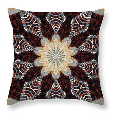 Woven Beauty Throw Pillow