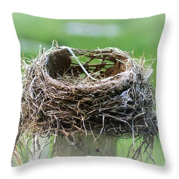 Moved On Throw Pillow