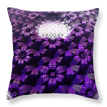 Woven Kusodama Throw Pillow