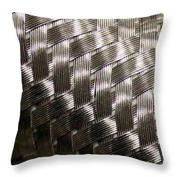 Woven Pipe Throw Pillow