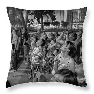 wow Throw Pillow