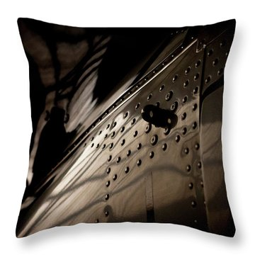 Wow, Look At The Reflections Throw Pillow by Paul Job