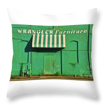 Wrangler Furniture Throw Pillow