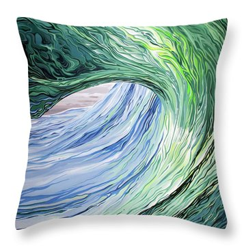 Wrap Around Throw Pillow