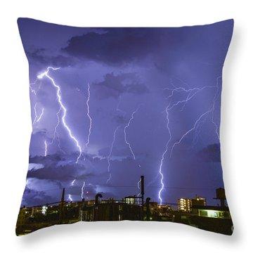 Wrath Of Gods Throw Pillow