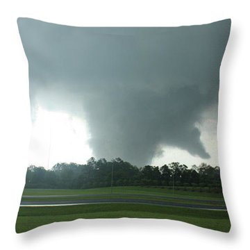 Wrath Throw Pillow by Rick Lipscomb