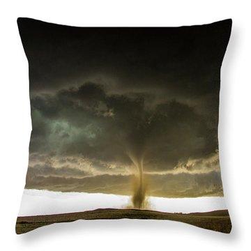 Wray Colorado Tornado 060 Throw Pillow