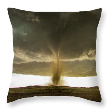 Wray Colorado Tornado 060 Throw Pillow