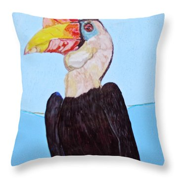 Wrinklebill Throw Pillow