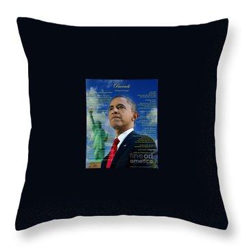 Writer, Artist, Phd. Throw Pillow by Dothlyn Morris Sterling