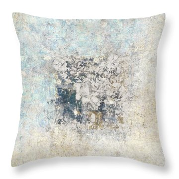 Writing On The Wall Number 5 Square Throw Pillow