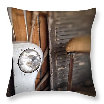 Throw Pillow featuring the photograph Wrong Turn by Olivier Calas
