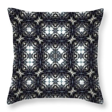 Wrought Iron Blues Throw Pillow