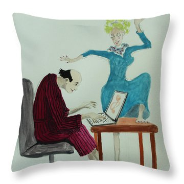 W've Got Rhtyhm Throw Pillow