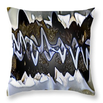 Throw Pillow featuring the photograph Wwaatteerr by Tom Cameron