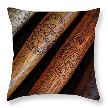 Wwii Lineup Throw Pillow
