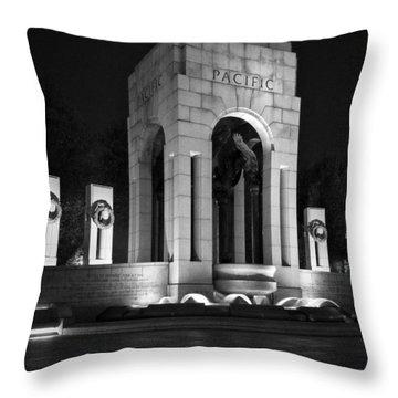 World War 2 Memorial, Pacific Throw Pillow
