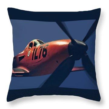 Wwii Warbird Throw Pillow